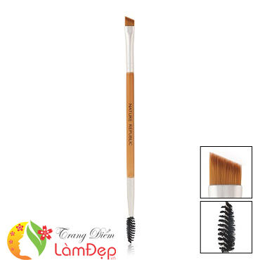 Cọ Kẻ Chân Mày 2 Đầu Nature Republic Nature's Deco Dual Eyebrow Brush