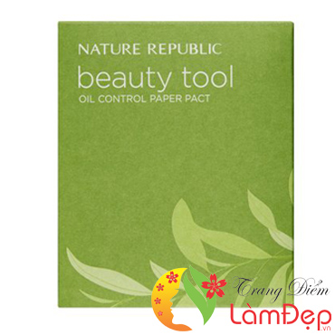 Giấy Thấm Dầu Nature Republic Beauty Tool High-Quality Chinese Yam Paper