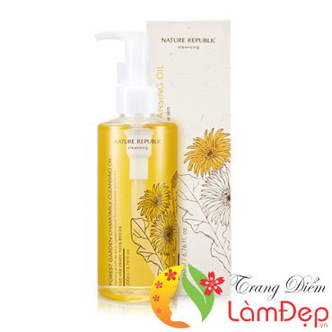 Dầu Tẩy Trang Chiết Xuất Cúc La Mã Forest Garden Chamomile Cleansing Oil