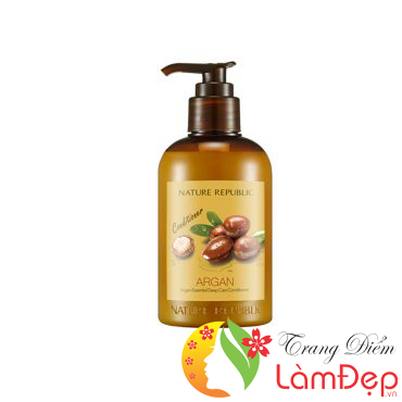 Dầu Xả Phục Hồi Hư Tổn Nature Republic Argan Essential Deep Care Conditioner