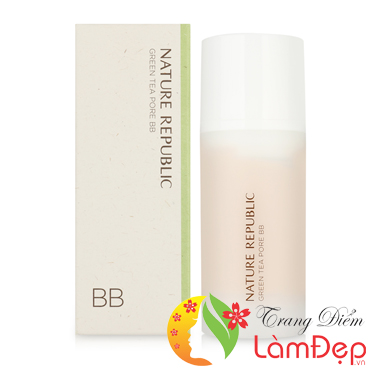 Kem BB Nature Republic Botanical Green Tea Pore BB SPF50 PA