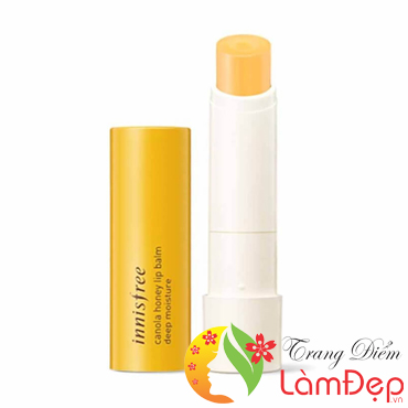 Son Innisfree Dưỡng Môi Canola Honey Lip Balm – Color