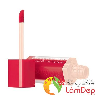 Son Velvet Bourjois Rouge Edition Souffle Màu 06 Cherry Leaders